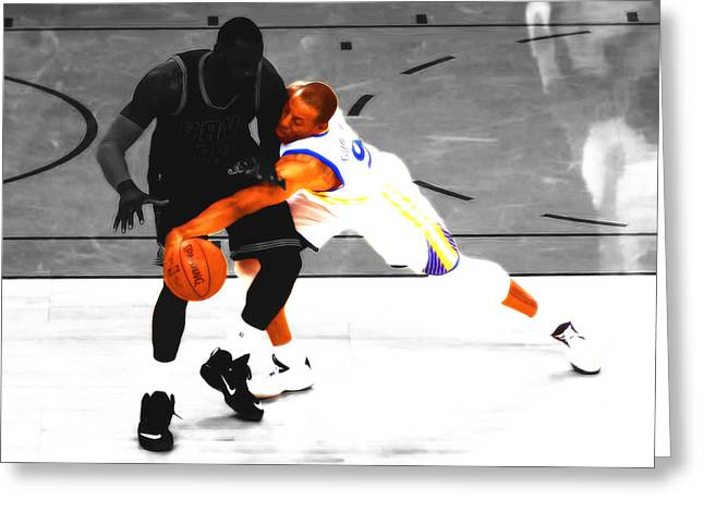 Andre Iguodala Gimme That Greeting Card by Brian Reaves