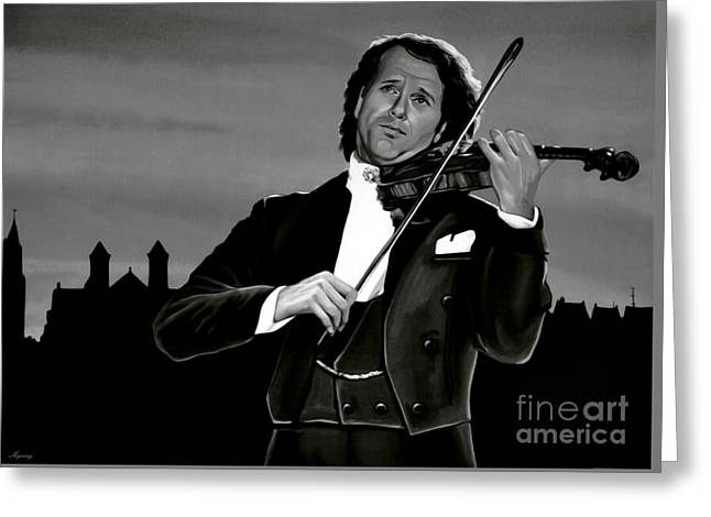 Andre Rieu Greeting Card by Meijering Manupix