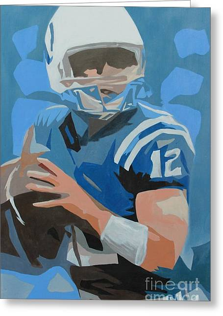 Andrew Luck II Greeting Card