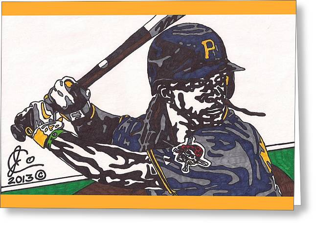 Andrew Mccutchen 1 Greeting Card by Jeremiah Colley