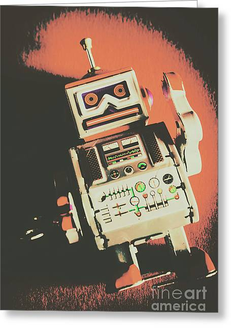 Android Short Circuit  Greeting Card
