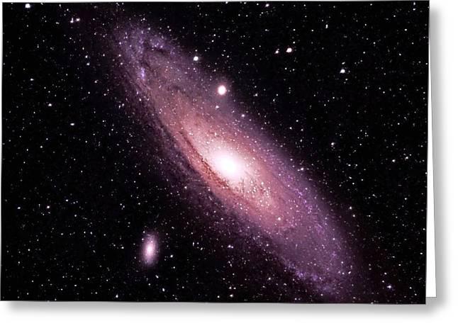 M31 Andromeda Galaxy Greeting Card