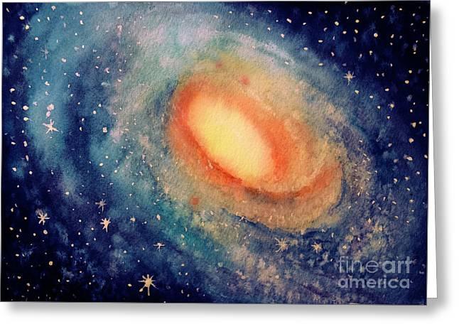 Andromeda Greeting Card