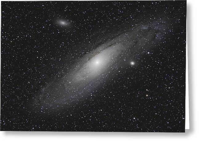 Andromeda Galaxy M31 Greeting Card by Christopher L Thomley