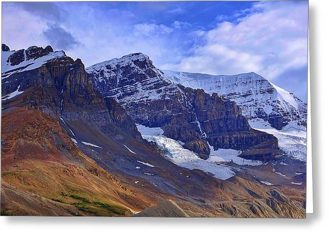 Mount Andromeda Greeting Card by Heather Vopni