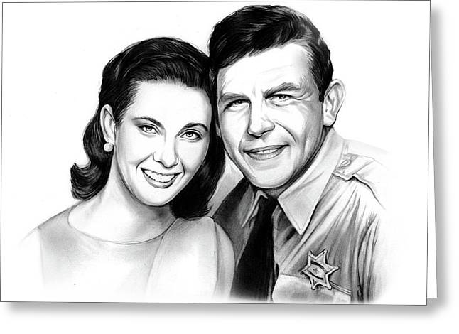 Andy And Ellie Greeting Card by Greg Joens