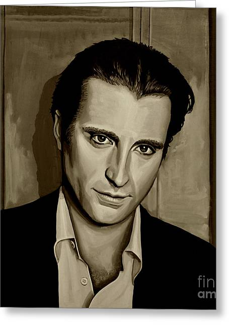 Andy Garcia Greeting Card