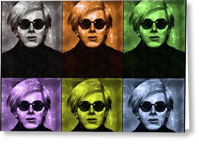 Andy Warhol, Arist Greeting Card