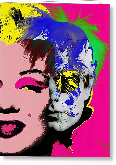 Andy Warhol Collection Greeting Card