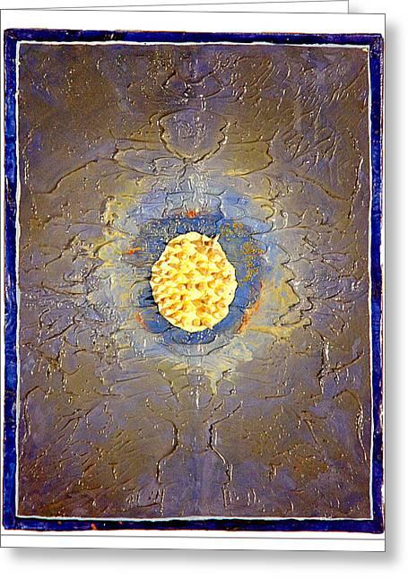 Anemone Greeting Card by Howard Goldberg