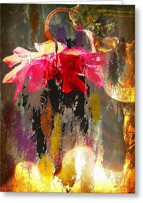 Anemone Monday Greeting Card
