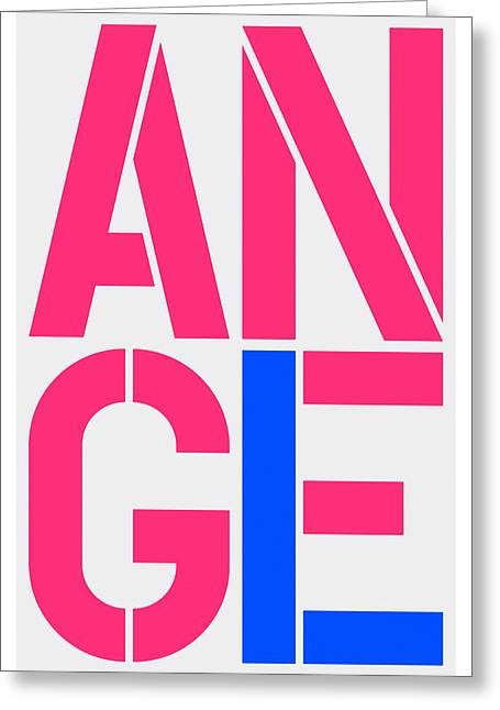 Angel-1 Greeting Card