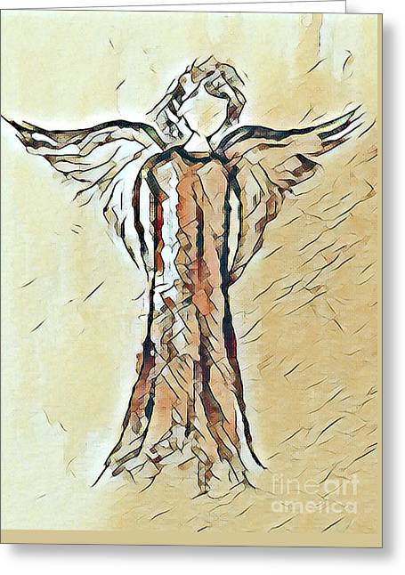 Angel 2 Greeting Card