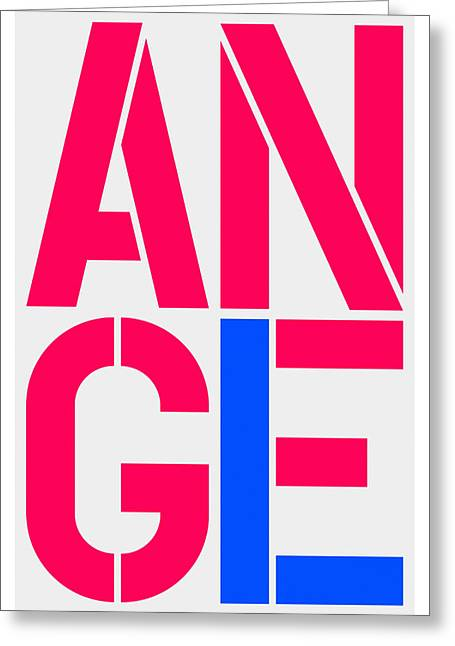 Angel-3 Greeting Card