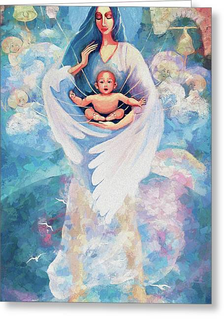 Angel Blessing Greeting Card