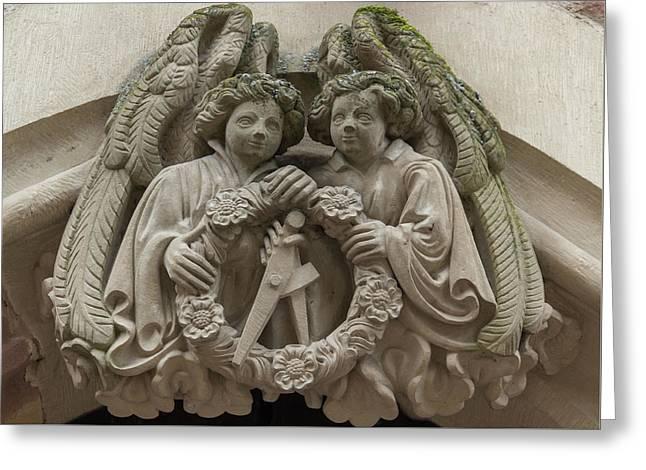 Angel Crest Greeting Card
