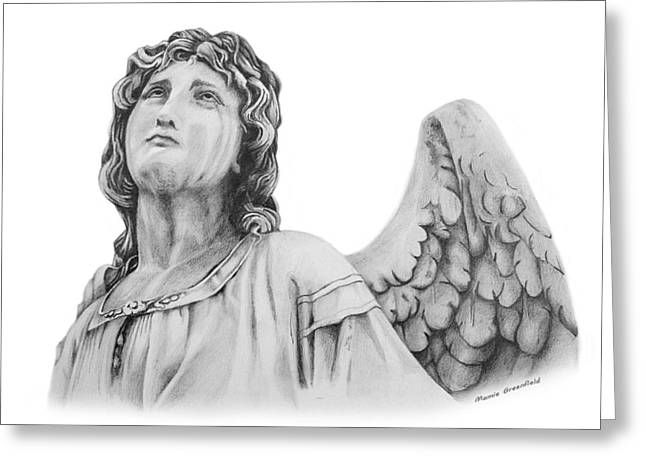Angel Eyes Greeting Card