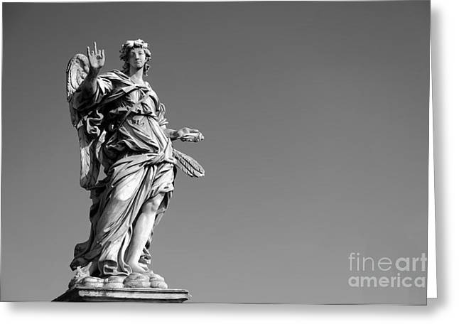 Angel In Rome Greeting Card