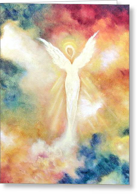 Angel Light Greeting Card