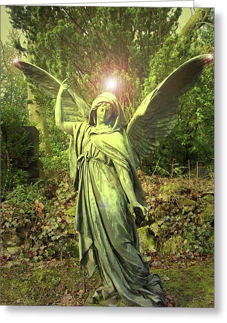 Angel Of Alliance No. 01 Greeting Card by Ramon Labusch