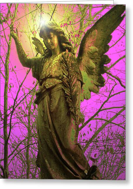 Angel Of Bless No. 02 Greeting Card