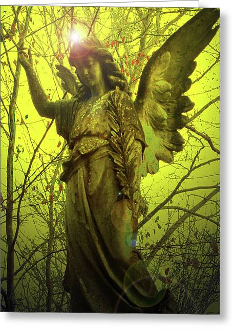 Angel Of Bless No. 04 Greeting Card