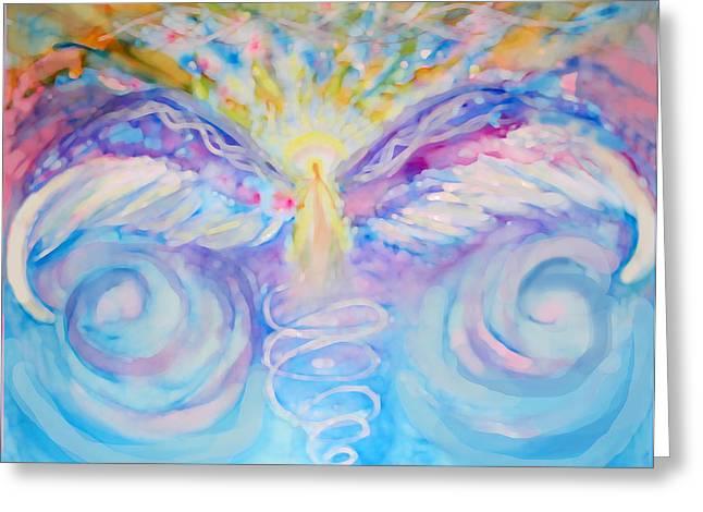 Angel Of Change Greeting Card