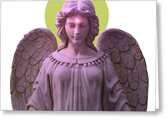 Angel Of Devotion No. 08 Greeting Card