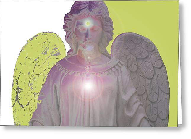 Angel Of Devotion No. 09 Greeting Card