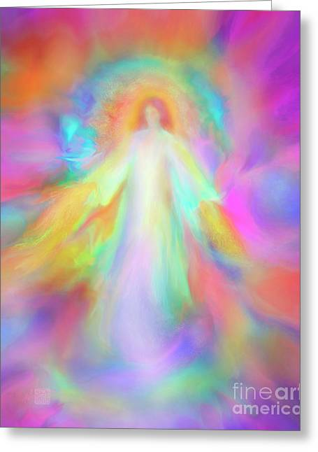 Angel Of Forgiveness And Compassion Greeting Card