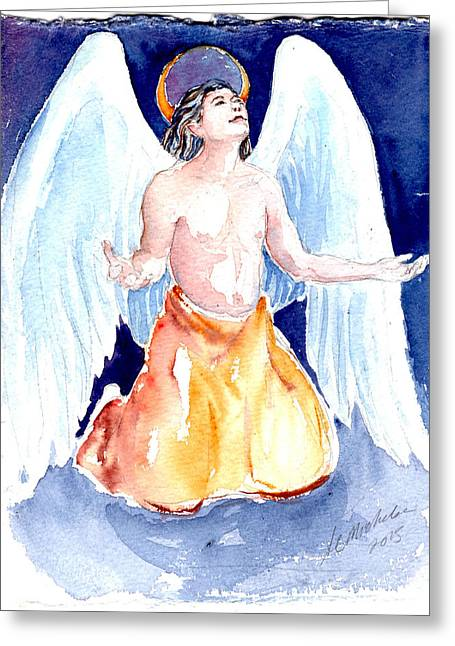 Angel Of Gratitude Greeting Card