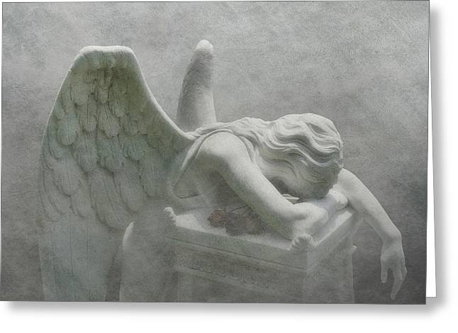 Angel Of Grief Greeting Card