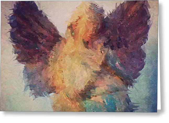 Angel Of Hope Greeting Card by Robert ONeil