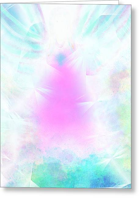 Angel Of Light Greeting Card