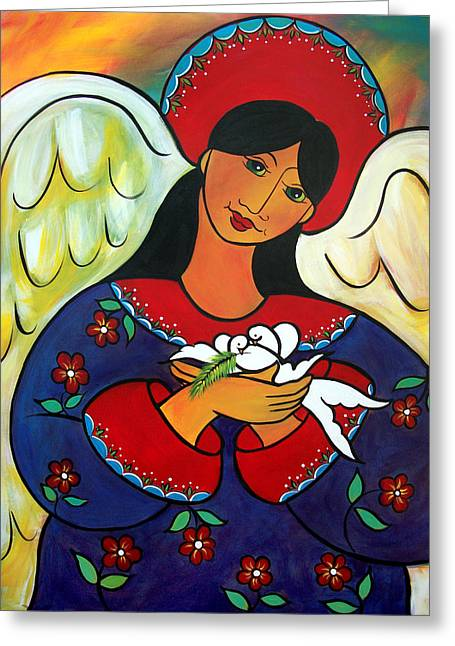 Angel Of Renewal Greeting Card
