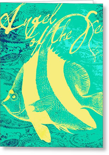 Angel Of The Sea Greeting Card