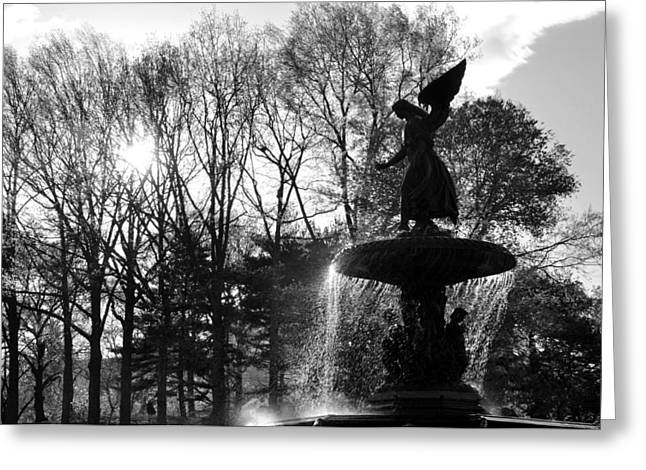 Angel Of The Waters Greeting Card by Andrew Dinh