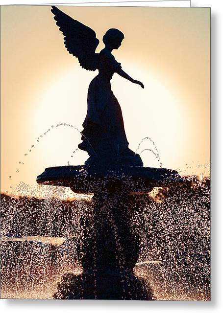 Angel Of The Waters Greeting Card