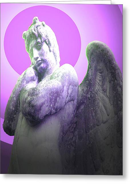 Angel Of Youth No. 02 Greeting Card