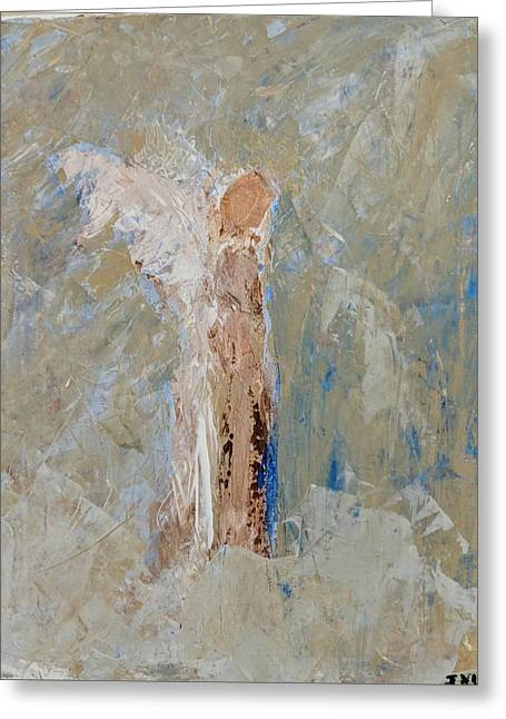 Angel Out Of Nowhere Greeting Card