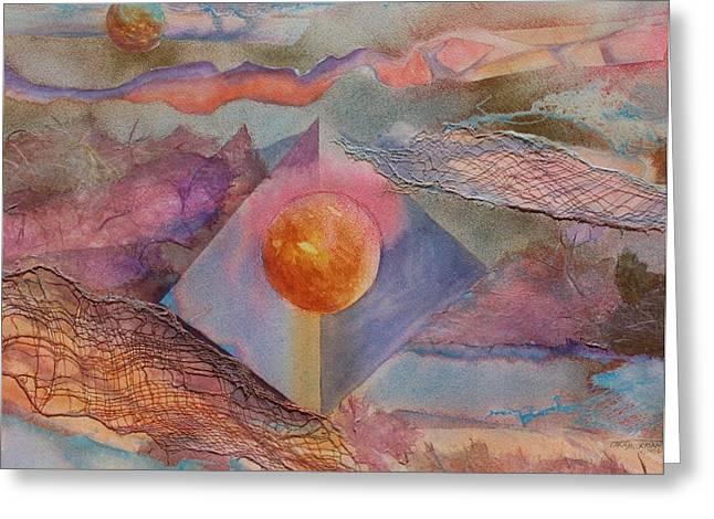 Angel Sphere Greeting Card