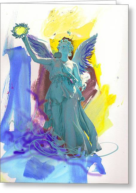 Angel, Victory Is Now Greeting Card