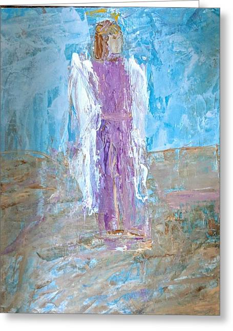 Angel With Confidence Greeting Card