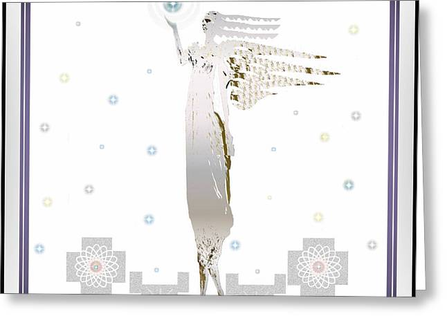 Angelic Messenger Greeting Card