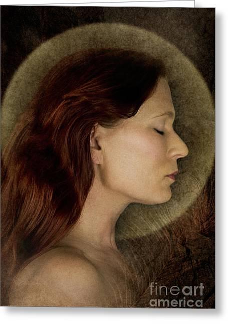 Angelic Portrait Greeting Card