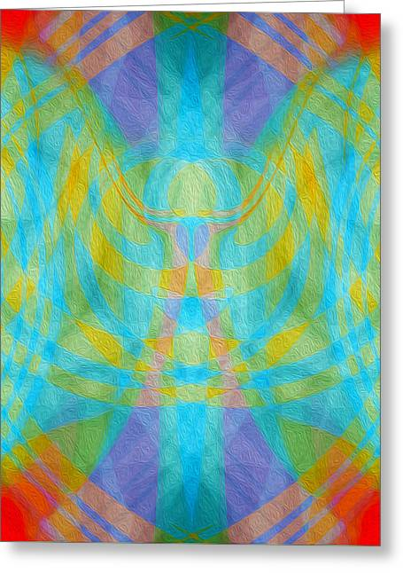 Angelic Presence Greeting Card