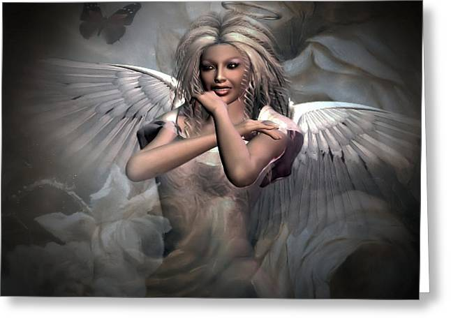 Angels Bliss Greeting Card
