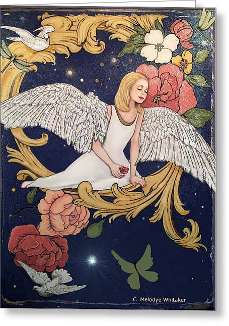 Angels Dream Greeting Card