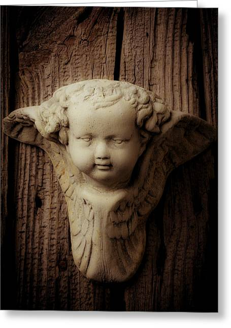 Angels Face Greeting Card