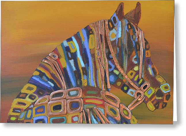 Angels Horse Greeting Card